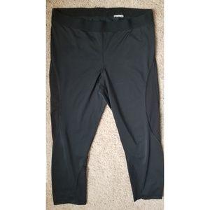 Nike hyper cool xl leggings cropped mesh legging